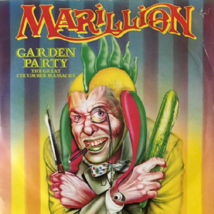 "Marillion ‎- Garden Party (7"") (VG+/VG-)"